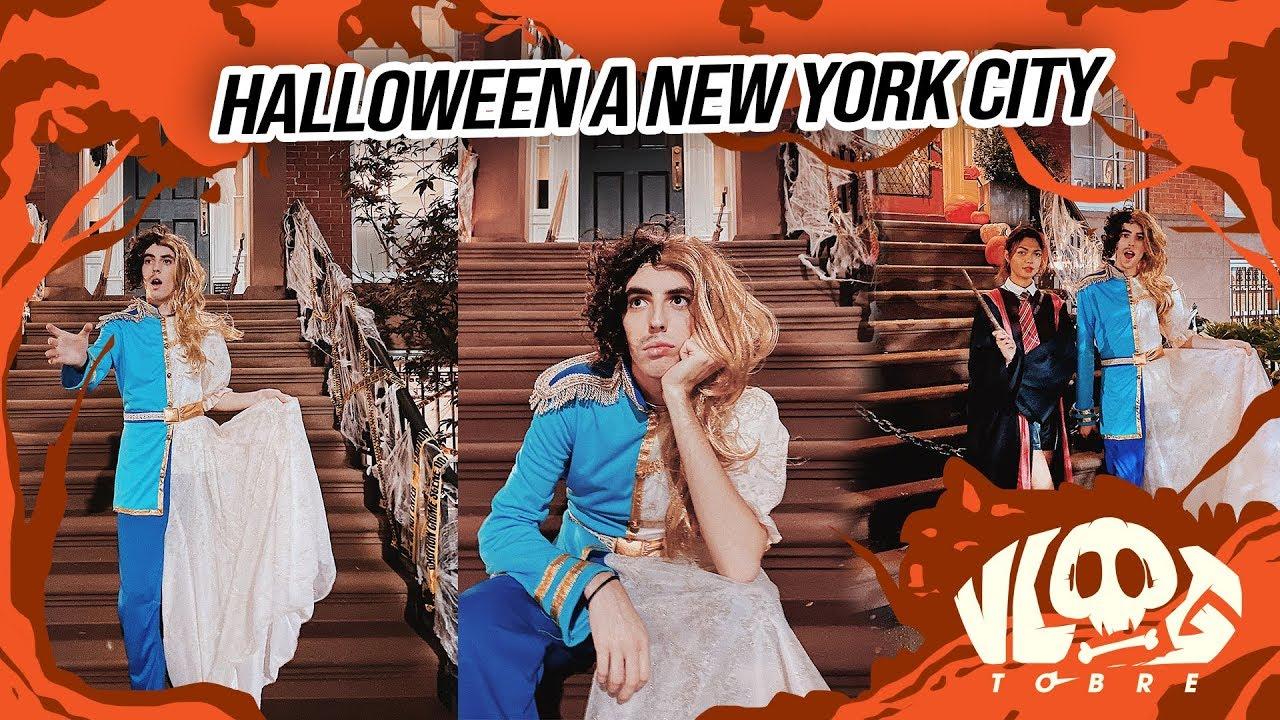 Je fête Halloween à New York !! ⎮ Vlogtobre
