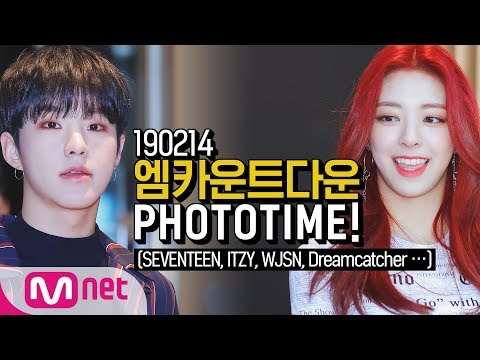 190214 SEVENTEEN, ITZY, WJSN ... [M COUNTDOWN PHOTO TIME]