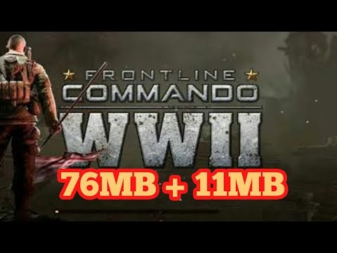 Frontline Commando Ww2 Full Mod Apk + Data Free Download 100% Working    Full Working Game(Hindi)