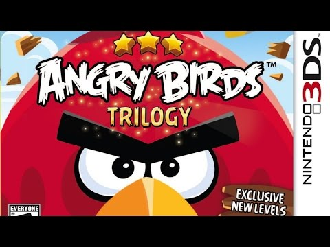 Angry Birds Trilogy Gameplay {Nintendo 3DS} {60 FPS} {1080p}