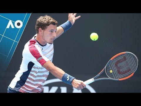 Carreno Busta v Polansky match highlights (1R) | Australian Open 2017