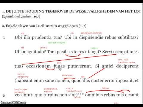 LatinPerDiem Latin Lesson, Seneca, Epistulae Ad Lucilium, I.ii, 8из YouTube · Длительность: 2 мин46 с