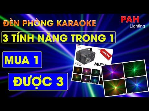Đèn chiếu phòng karaoke Mutiny với 3 tính năng led , chớp , laser  - 0903587353