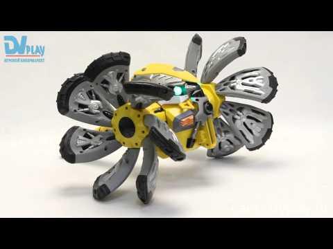 Робот-Трансформер Soomo Bioshocker Bomber