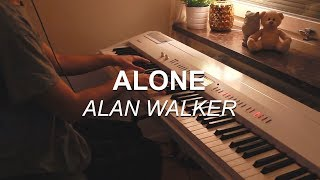"""Alone"" by Alan Walker, played on Piano by Joel Sandberg"