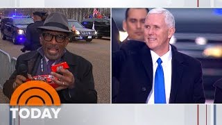 'Give Me A Break!' Al Roker Uses Candy In Attempt To Shake Mike Pence's Hand | TODAY