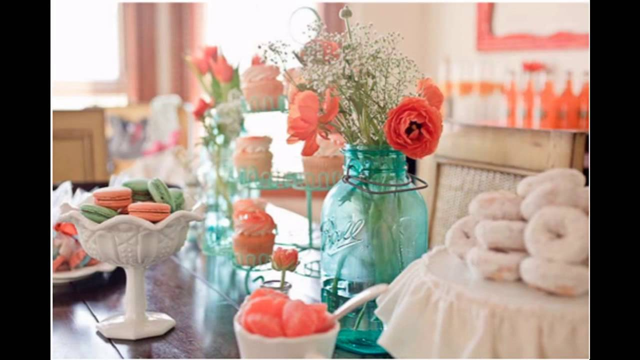 Baby Shower Color Themes Decorations Ideas Youtube