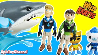 WILD KRATTS Toy Parody Video The Octonauts Get Rescued by The Wild Kratts Bros by Epic Toy Channel