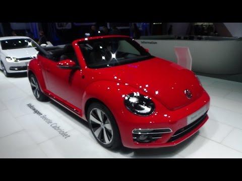 2017 Volkswagen Beetle Convertible SOUND - Exterior and Interior - Geneva Motor Show 2017