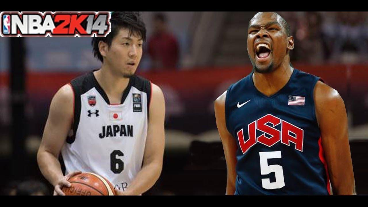 バスケ 日本 対 アメリカ