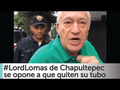 Arne aus den Ruthen: Lord Lomas de Chapultepec se opone que quiten tubo de su calle. COMPLETO
