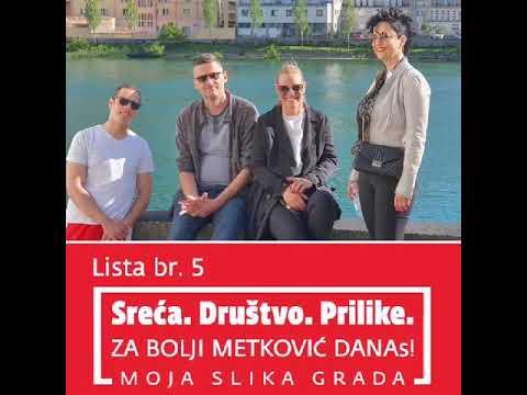 SDP Metković- Lista broj 5. # DANAs