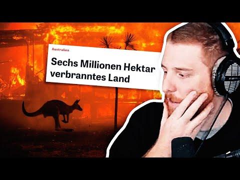 Unge REAGIERT Auf Brände In Australien & #GreenInternet   #ungeklickt