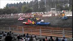 Canby Oregon Clackamas County Fair Demolition Derby 2015