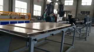 Export To Mexico--wpc Crust Foam Board Machine----email: Jessica@wpcmachinery.com