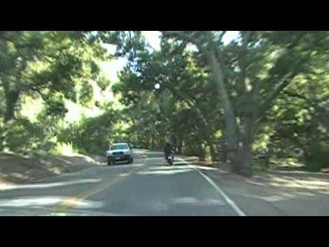 Motorcycle ride, Trabuco Canyon Road, Orange County, CA