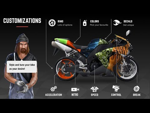 Recing Fever Moto Review || Best Games ReviewS 2018 || HD