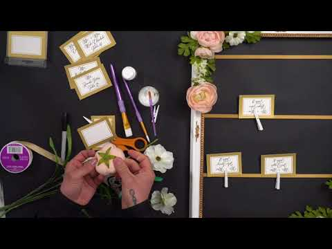Wedding Escort Card Holder | Michaels