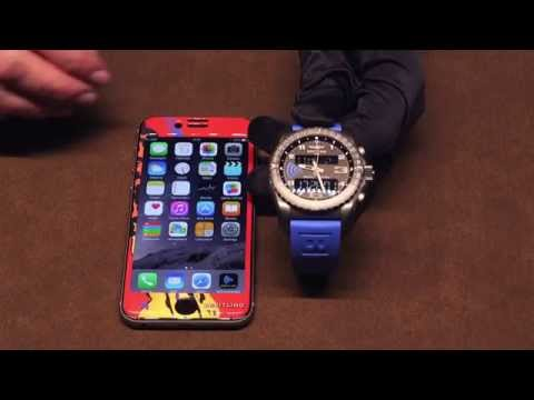Breitling B55 Connected Watch With iPhone In Action Hands-On | aBlogtoWatch