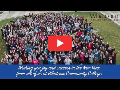 New Year's Greetings from Whatcom Community College