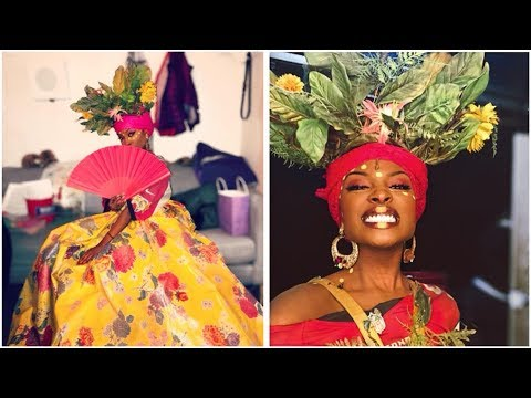 NEW Asaka Understudy Debut(Loren Lott) behind the scenes in Once on This  Island On Broadway