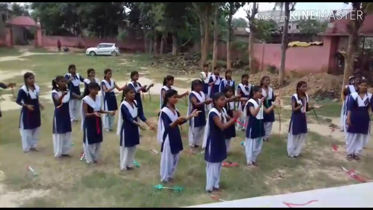 The Bharat Scout And Guide Flag Song Scout Flag Song Scout Jhanda Geet Youtube
