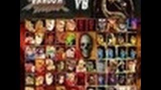Jugar a Mortal Kombat vs Street Fighter (MUGEN) Gratis