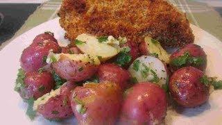 Fresh Herb Garlic & Chives Red Potatoes Recipe