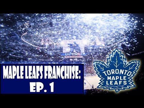 Toronto Maple Leafs Franchise Series Premiere NHL 18 EP. 1