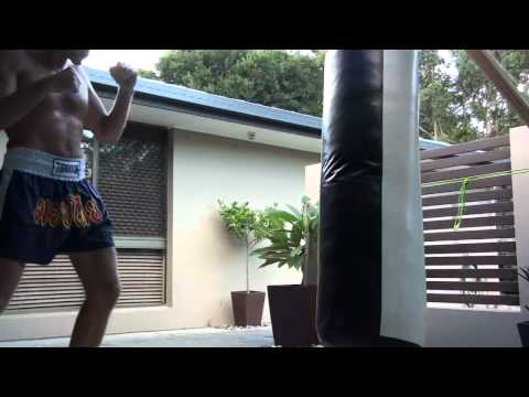 Heavy Bag Stand Joint Modification & Demo