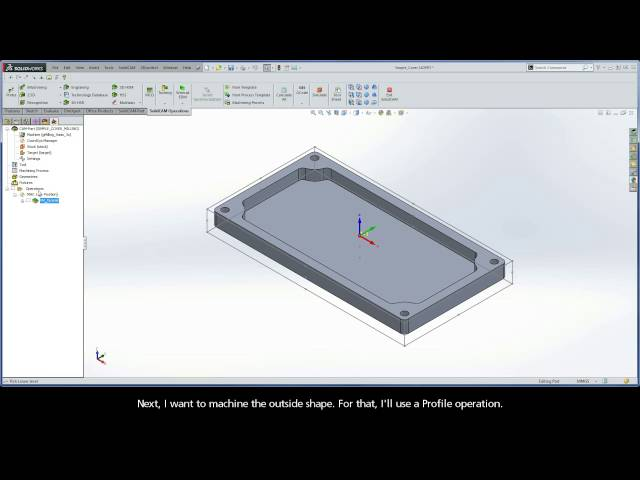 Programming with SolidCAM