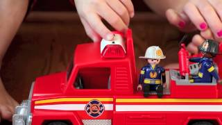 BG Toy Review: Playmobil Rescue Ladder Unit