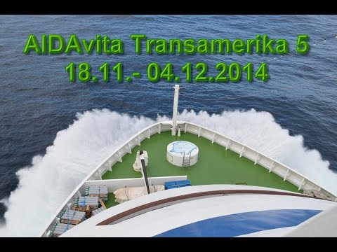 AIDAvita Transamerika 5 - 2014
