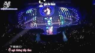 [Karaoke/Instrumental] [Vietsub] [Live] Ai Zhuan Jiao (Corner With Love OST) - Show Luo