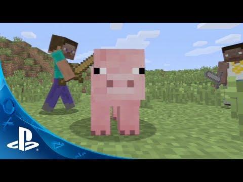 Minecraft PS3 Trailer
