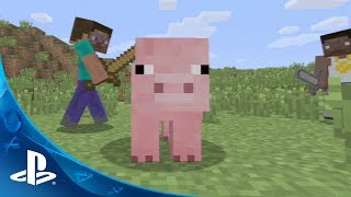 Minecraft PS3 Trailer