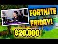 KingRichard WINS FORTNITE FRIDAY TOURNAMENT ($20,000) | Fortnite Battle Royale