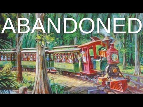 Abandoned - Disney's Fort Wilderness Railroad