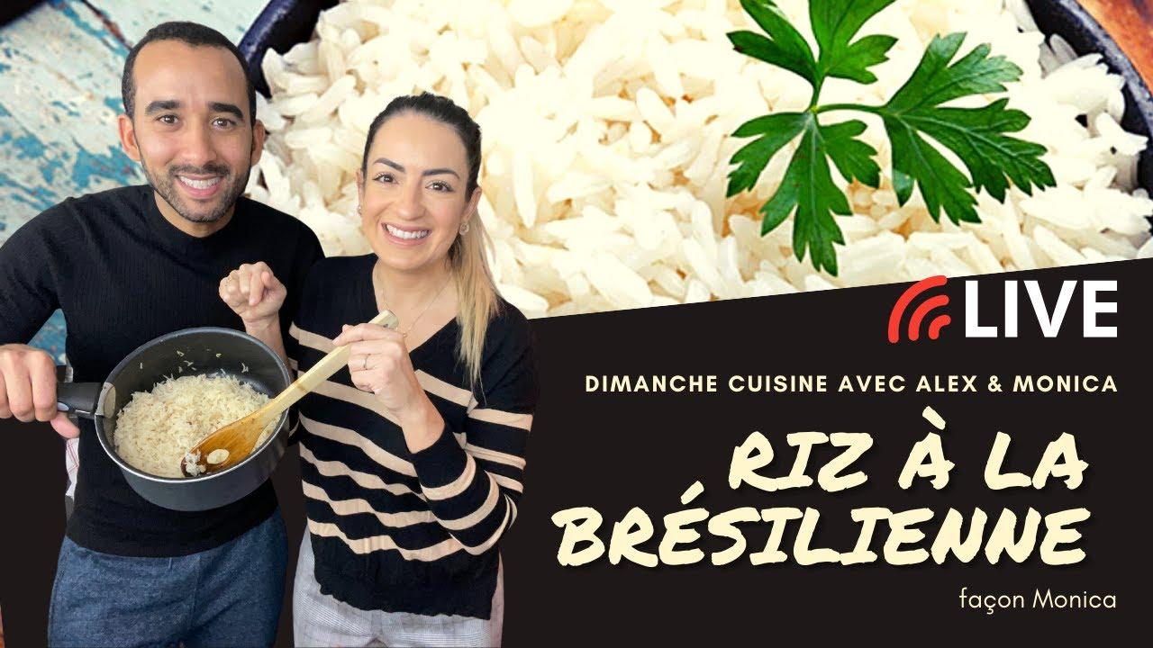Recette: riz à la brésilienne - façon Monica