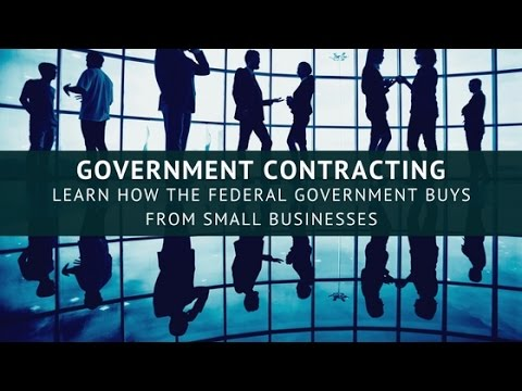 Government Contracting - Learn How the Federal Government Buys from Small Businesses