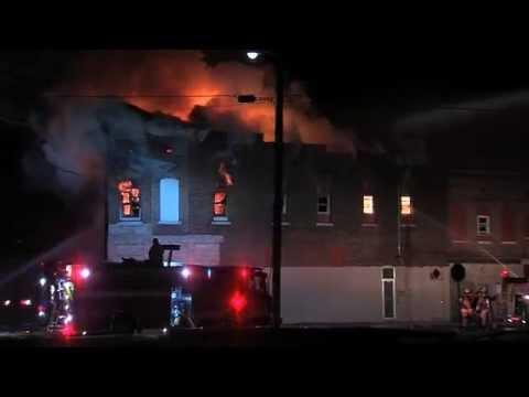 Washington Avenue Fire, Vincennes, Indiana