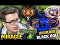 Miracle Top 2 at TI8 Versus UNIVERSE's LEGENDARY TI BLACK HOLE
