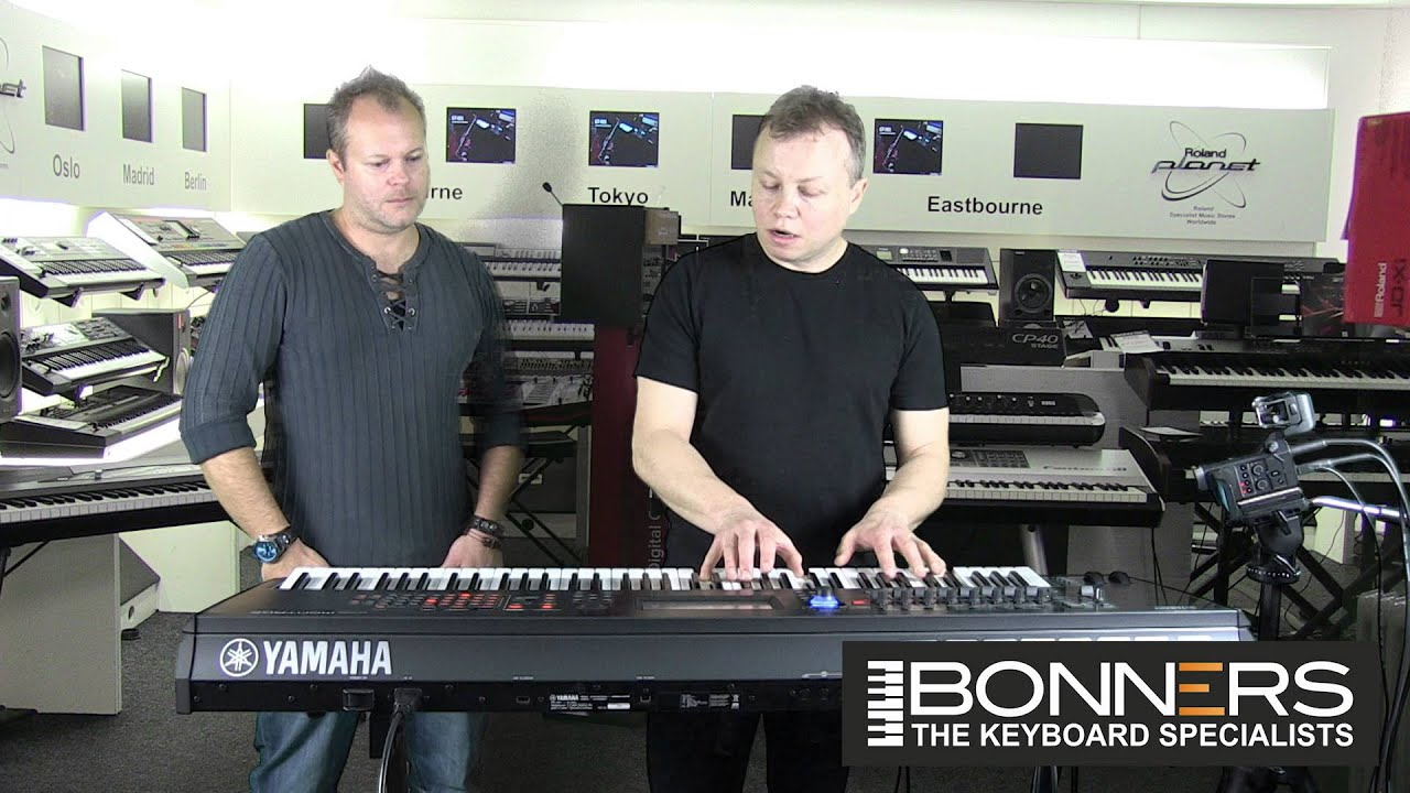yamaha montage sound guide pianos eps clavs organs demo youtube