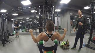 Fitness mit ESS   Fettbacke Nico