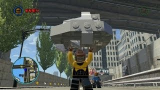 LEGO Marvel Super Heroes - Unlocking Power Man + Gameplay (Character Token Location)