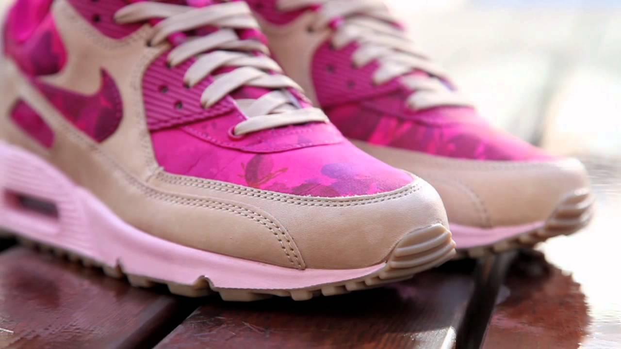 Wmns Nike Air Max 90 Liberty X NSW Denise Eva Pink LIB London