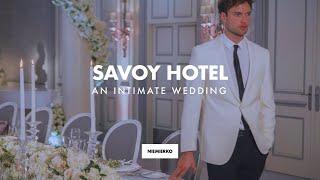 The Savoy Hotel Wedding, by Mark Niemierko