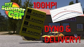 Dyno and new delivery job! - My Summer Car experimental