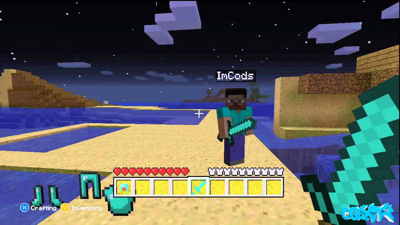 Minecraft (Xbox 11) Glitches: Infinite Health Glitch Tutorial
