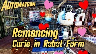 Fallout 4 Automatron DLC - Romancing Curie in her Robot Form